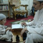 muslim-father-teaching-son-quran
